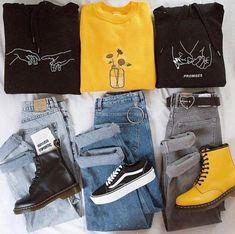 Source by Fashion outfits Teenage Outfits, Edgy Outfits, Teen Fashion Outfits, Grunge Outfits, Cute Casual Outfits, 90s Fashion, Fall Outfits, Artsy Outfits, Fashion Mode