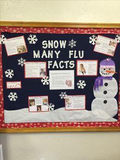 Winter Nursing Bulletin Board