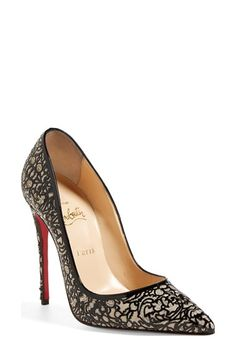 Dear Santa, I want these.  Christian Louboutin 'So Pretty' Pointy Toe Pump available at #Nordstrom