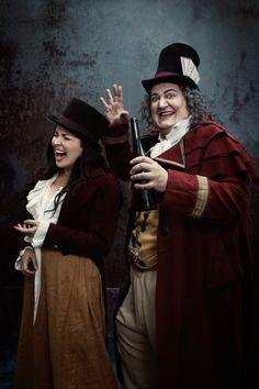 Anna Netrebko y Ambrogio Maestri. L'elisir d'amore (G.Donizetti). Foto Metropolitan Opera House/Temporada 2012-2013