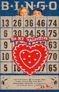 Be My Valentine Bingo game card Valentine Bingo, Valentines Day Hearts, Vintage Valentines, Valentine Heart, Vintage Paper Crafts, Valentine's Day Printables, Bingo Cards, Valentine Decorations, Wild Hearts