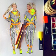 Для @3f4official.. Аня, @glamapple , я просто влюблена в эти костюмы!