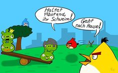 #sonntagsmaler #nichtlustig #stayathome #stayhome  #fanart #angrybirds Stay At Home, Angry Birds, Peanuts Comics, Fanart, Funny, Fan Art