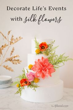 8cb08c377f1d Keep weddings simple with silk wedding flowers. Shop wedding bouquets and  decorations for brides and stay on budget. Get inspiration for DIY brides  at ...
