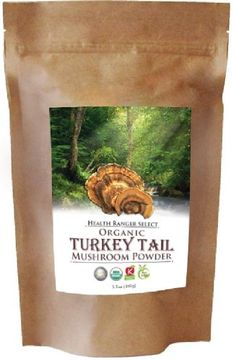 Organic Turkey Tail Mushroom Powder 100g Check out the image by visiting the link.