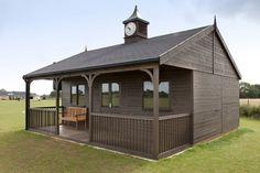 A bespoke cricket pavilion from Scotts of Thrapston