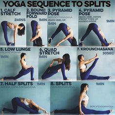 Yoga is a sort of exercise. Yoga assists one with controlling various aspects of the body and mind. Yoga helps you to take control of your Central Nervous System Yoga Bewegungen, Yoga Pilates, Sup Yoga, Yoga Moves, Yoga Flow, Yoga Meditation, Yoga Exercises, Kundalini Yoga, Yoga Handstand