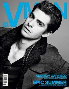 Andrew Garfield: Capa dupla da VMAN #26