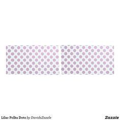 Lilac Polka Dots Pillow Cases Available on many products! Hit the 'available on' tab near the product description to see them all! Thanks for looking!  @zazzle #art #polka #dots #shop #home #decor #bathroom #bedroom #bath #bed #duvet #cover #shower #curtain #pillow #case #apartment #decorate #accessory #accessories #fashion #style #women #men #shopping #buy #sale #gift #idea #fun #sweet #cool #neat #modern #chic #laptop #sleeve #black #orange #blue #lilac #purple #violet  #white