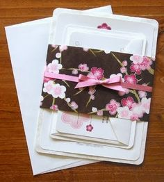 We are huge fans of the beautiful Japanese Washi Papers and this wrap completes this set perfectly!
