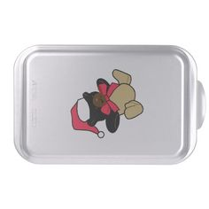 Christmas Bear Cake Pan http://www.zazzle.com/christmas_bear_cake_pan-256544834951762437?rf=238271513374472230  #christmas  #christmasdécor