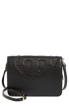 d4cd574c1a3a Tory Burch  All-T  Leather Crossbody Bag available at  Nordstrom Tory Burch