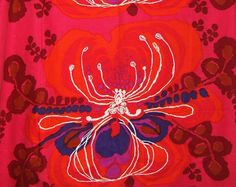 "Vintage fabric ""Octandia"" by Saini Salonen."