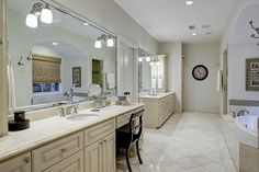 6643 Edloe St Southside Place, TX 77005: Photo Large master bath with separate…