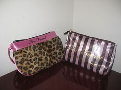Exquisite Too Faced Cosmetic Makeup Bag Case Clutch New Unboxed ...