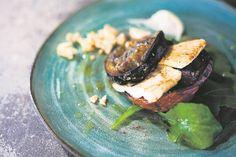 RESEP: Gebraaide-tamatie-eiervrug-en-fetaslaai   Netwerk24.com Creme Fraiche, Kos, Recipes, Ripped Recipes, Aries, Cooking Recipes, Blackbird