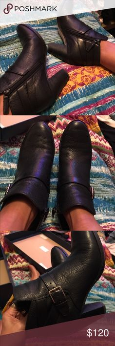 Black Cole Haan Boots Worn 3 times Cole Haan Shoes Ankle Boots & Booties