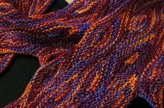Conflagration: Yarn Kits, Earthfaire Knitting Kits, Dip Dye, Garter Stitch, Yarn Colors, Teal Green, Pattern Making, Textile Design, Ravelry, Evans
