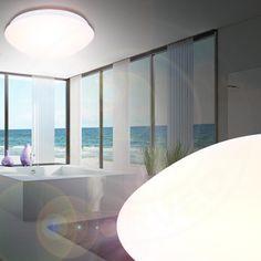 LED Badkamer Plafondschijnwerper ↔440mm/ Chroom/ Lamp Badkamerlamp ...