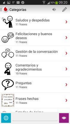Informática para Educación Especial: Hermes Mobile, nuevo comunicador para smartphones con opciones muy interesantes.