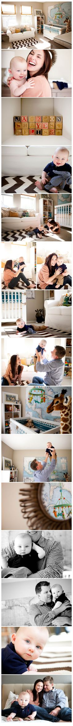 """i love the map on the wall and the rug in this nursery! maybe for owen's """"toddler room"""""""