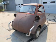 Yamaha 750cc Swapped Isetta Seems as Good a Way to Die as Anything ...