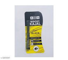 Eyes ADS Eye Care 12 Hr Waterproof Kajal Pencil Black Product Name: ADS Magic Kajal Yellow  Brand Name: ADS Product Type: Kajal  Capacity: 0.35 gm Package Contains: It Has 1 Pack  Kajal Country of Origin: India Sizes Available: Free Size *Proof of Safe Delivery! Click to know on Safety Standards of Delivery Partners- https://ltl.sh/y_nZrAV3  Catalog Rating: ★3.9 (2966)  Catalog Name: Free Gift Ads Eye Care 12 Hr Waterproof Kajal Pencil Black Vol 5 CatalogID_441461 C51-SC1242 Code: 19-3206841-
