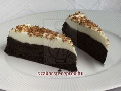 Kókuszos mascarpone krémmel töltött csokis sütemény • Recept | szakacsreceptek.hu