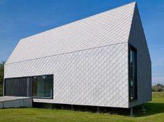 Uniforme uitstraling dankzij Ardonit natuurgrijze leien van SVK CAAN architecten house M