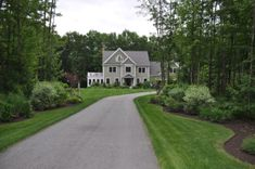 Long Driveway Landscaping | Our Work | Prime Cut Landscaping