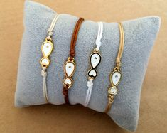 This listing is for one 2016 Gold Plated New Years Friendship Bracelet.  The bracelet can be worn on its own or combined with other friendship bracelets. It is a very cute and thoughtful gift for your mother, sister, wife, girlfriend either for Christmas or New Years.  The bracelet is available in the following colors: black, navy blue, gray, beige, burgundy, purple, camel, red, green, dark gray, creme and brown.  The size of the bracelet is adjustable to fit almost everyone.  The bracelet…