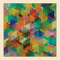 CUBEN Illusion Print - excites - the Portfolio of Simon C. Page