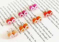 Color Pencil Stud Earrings