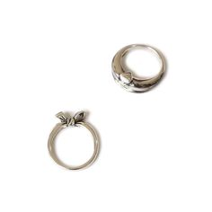 TINGs Jewellery | Hsieh I Ting Alice, Cheshire Cat | rings | 2016 | silver | 25x20x3mm, 23x23x8mm