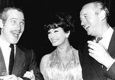 Paul Newman, Sophia Loren and David Niven.
