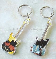 Promotional Acrylic Keychain,Guitar Key Chain suppliers – China ...
