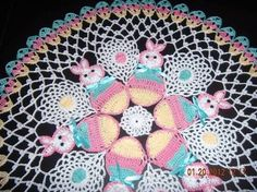 Resultado de imagem para burda crochet doily