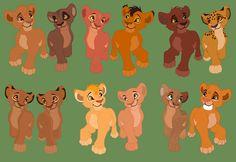 Cub couple 3 and cub couple 6 are mine
