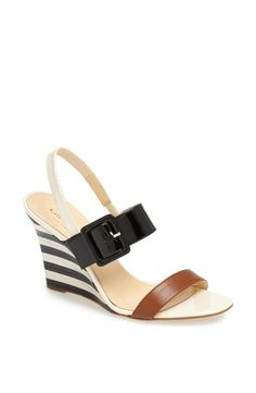Classic summer time Kate Spade New York Isola wedge sandal, from Nordstrom.