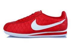 lowest price 79621 3c629 Nike Cortez Nylon All Red White
