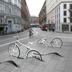 Copenhague es una de las capitales mundiales de la bicicleta