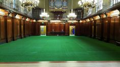 ARTTRA Artificial Grass Hire at The Merchant Taylor's Hall. www.arttragrass.com or call us on 0845 299 3879