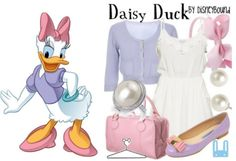 Daisy Duck, Goofy, Meg and a whole bunch of other Disney inspired outfits! Disney Inspired Fashion, Character Inspired Outfits, Disney Fashion, Disney Bound Outfits, Disney Dresses, Disney Clothes, Throwback Thursday Outfits, Cute Fashion, Fashion Outfits