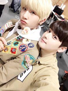 [15.03.16] Astro official twitter - JinJin e EunWoo
