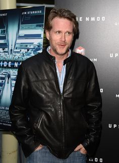 Handmade Custom Cary Elwes Leather Jacket, and 50 similar items