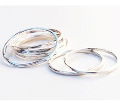 extra thin stacking rings