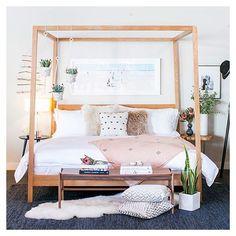 Pinspiration Love this @roomandboard bed scene.
