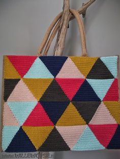 willewopsie: Crocheted bag