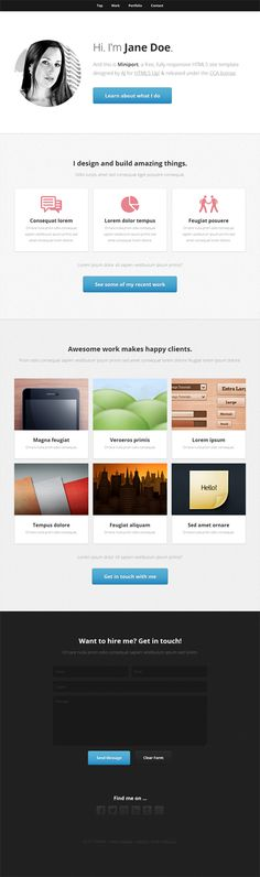 Responsive Web Templates For Free Download