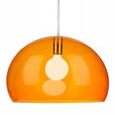 FL/Y taklampa från Kartell, formgiven av Ferruccio Laviani. FL/Y är en snygg lampa fr...